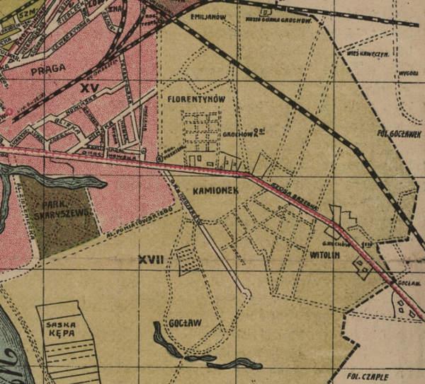 Grochów pierwszy drugi 1920 rok