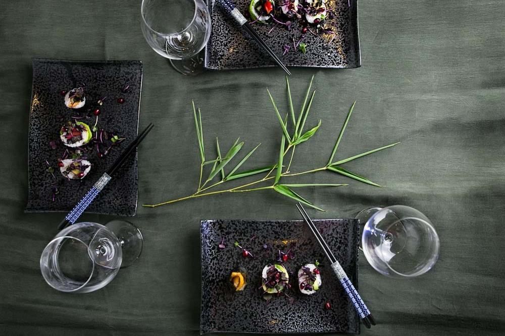 Tajimi Black Dinner | Bild: KimonoManufaktur.de