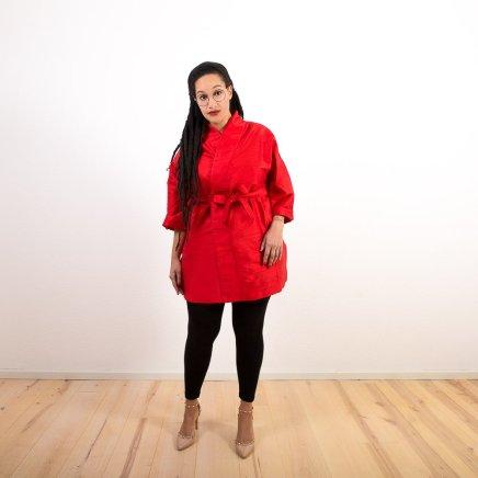 Seiden-Kimono in Rot | Credits: KimonoManufaktur