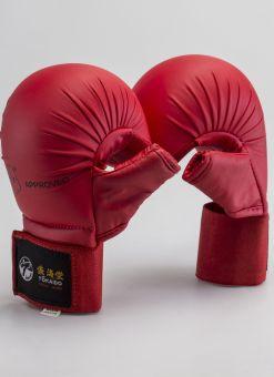 guantillas tokaido rojas con protector dedo para adultos