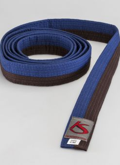 BROWN - BLUE BELT FOR MARTIAL ARTS 1