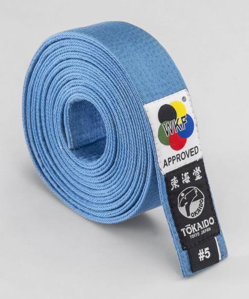 cinturón competición kata azul