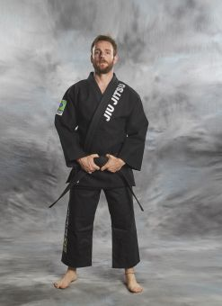 Brésilien GI Jiu-Jitsu 2 pièces noir