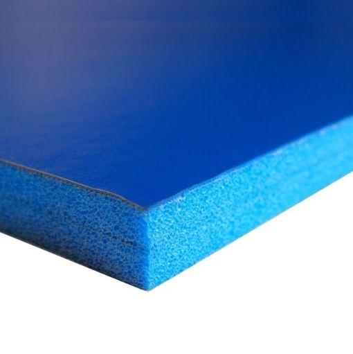 protección tatamix pmbas para pared azul