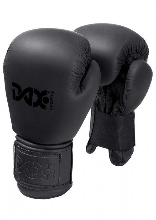 guantes de boxeo negros DAX hechos a mano