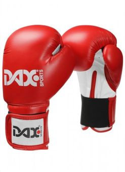 guantes junior para boxeo DAX de color rojo