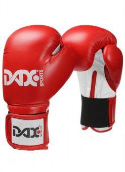 guantes junior para boxeo DAX de color rojo