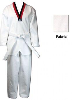 dobok Adidas taekwondo star T220 C/N/R blanco