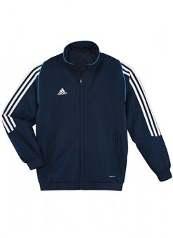 chaqueta de deporte adidas t12 azul para niños