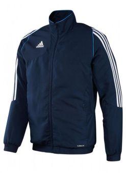 chaqueta deportiva adidas t12 azul para entrenar