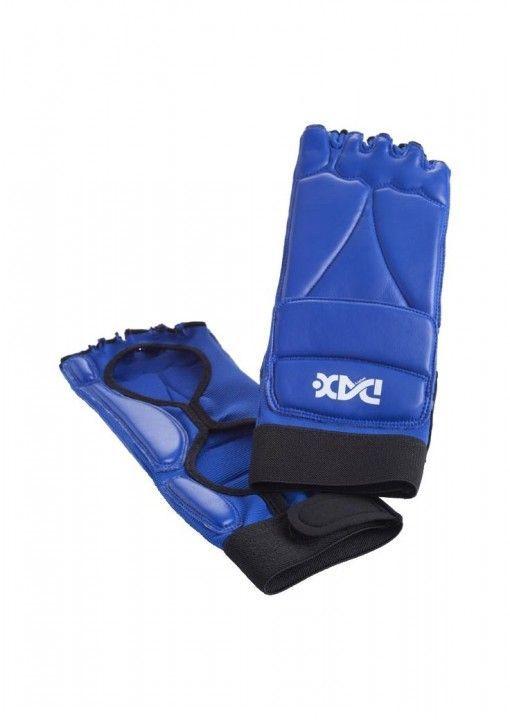 protector de pie para taekwondo fit - azul