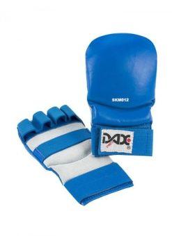 guantes Jiu Jitsu de cuero DAX Kumite 3 de color azul