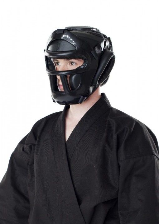 Casco de boxeo con rejilla Dax Sports