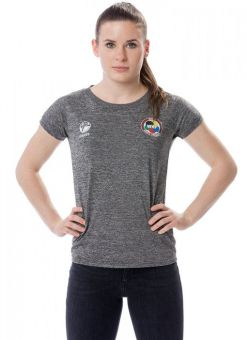 Women's tokaido team wkf grey t-shirt