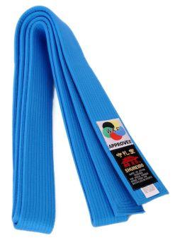 Cinturon shureido azul competicion wkf
