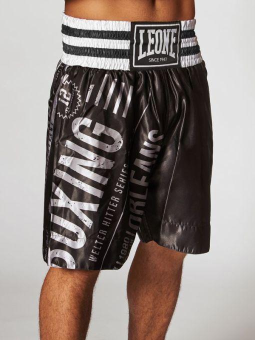 Pantalon Boxeo Leone Noble Arte Negro
