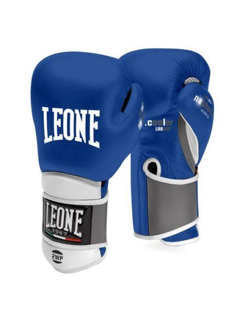 Guantes de Boxeo Leone Il Tecnico Azul