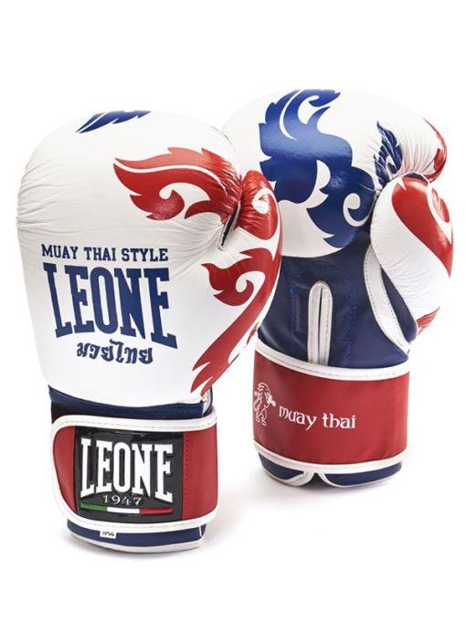 Guantes de Boxeo Muay Thai GEL Blanco