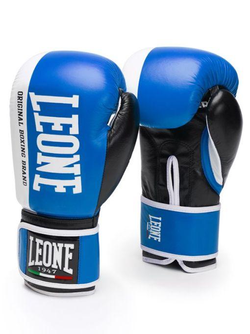 Guantes de Boxeo Leone Challenger GEL Color Azul
