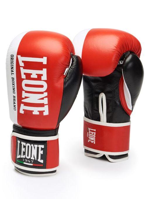 Guantes de Boxeo Leone Challenger GEL Color Rojo