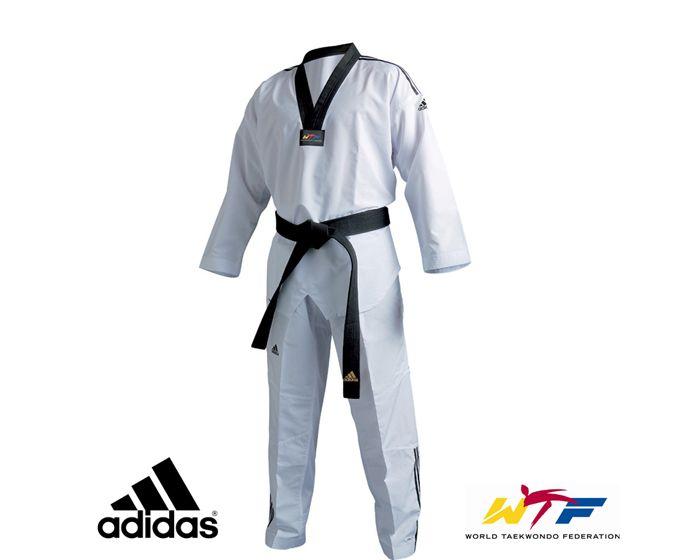 rock cerebro Derivación  Dobok Adidas Fighter 3 Climalite   Tienda Taekwondo   Kimonosport