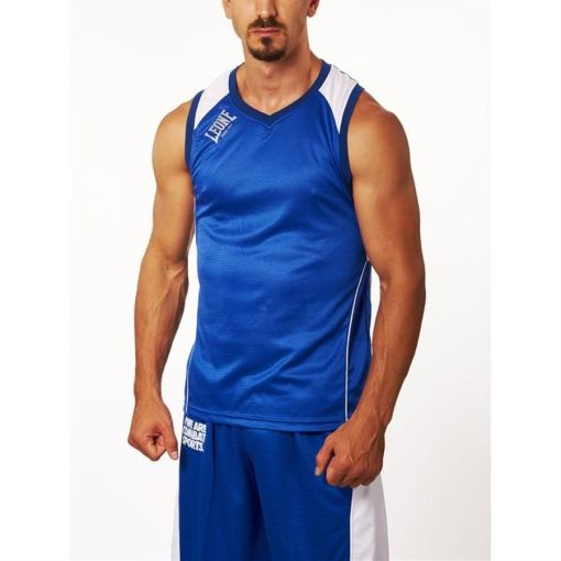Camiseta tecnica Leone azul Corner