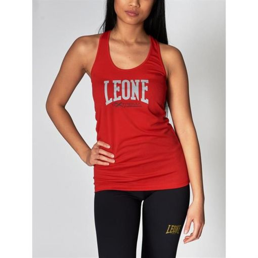 Camiseta tecnica sin mangas roja Extrema 3 Leone