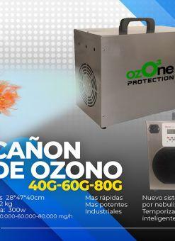 Cañon de Ozono Desinfectante 80g