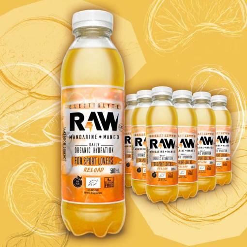 Raw mango mandarina