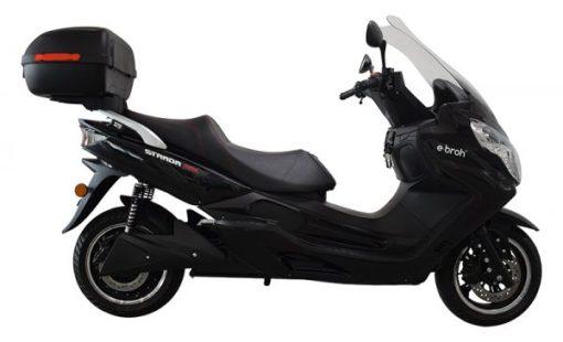 Scooter eléctrico Strada 20th negro
