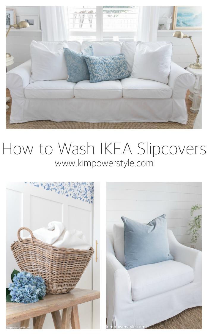 how to wash ikea slipcovers