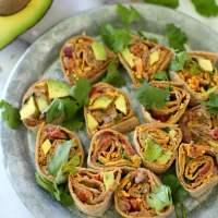 Healthy Southwestern Pinwheels