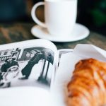 A writer's morning routine