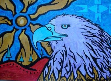 Eagle Eyes Peace