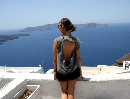 Santorini greece griekenland view