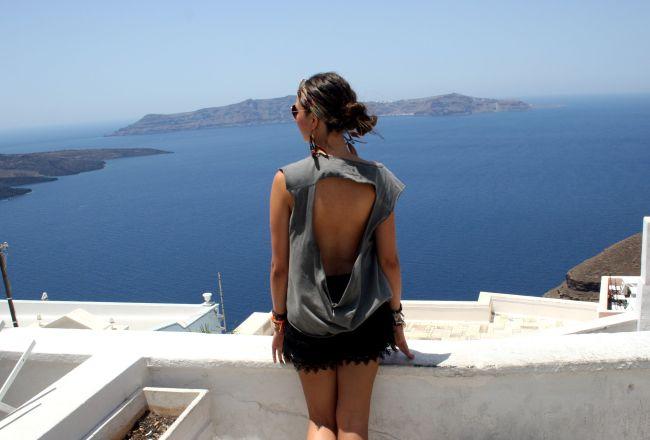 Santorini greece griekenland view