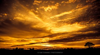 Magical sunset - Køge