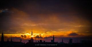 Crazy sunset - Cph skyline