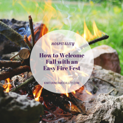 How to Welcome Fall with an Easy Fire Fest