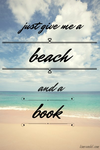 beach and book meme