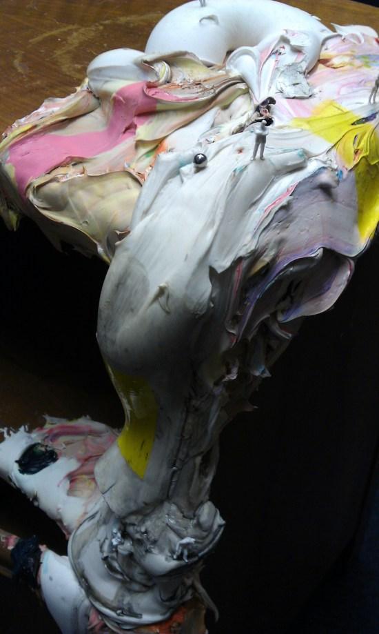 'Descent' (detail) 2011