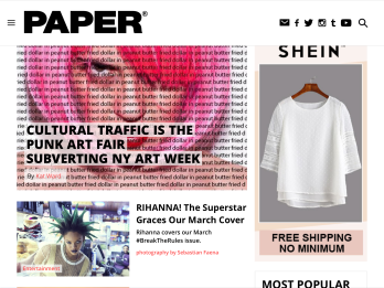 Cultural Traffic NY, papermag review