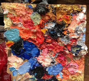 Palette view portrait