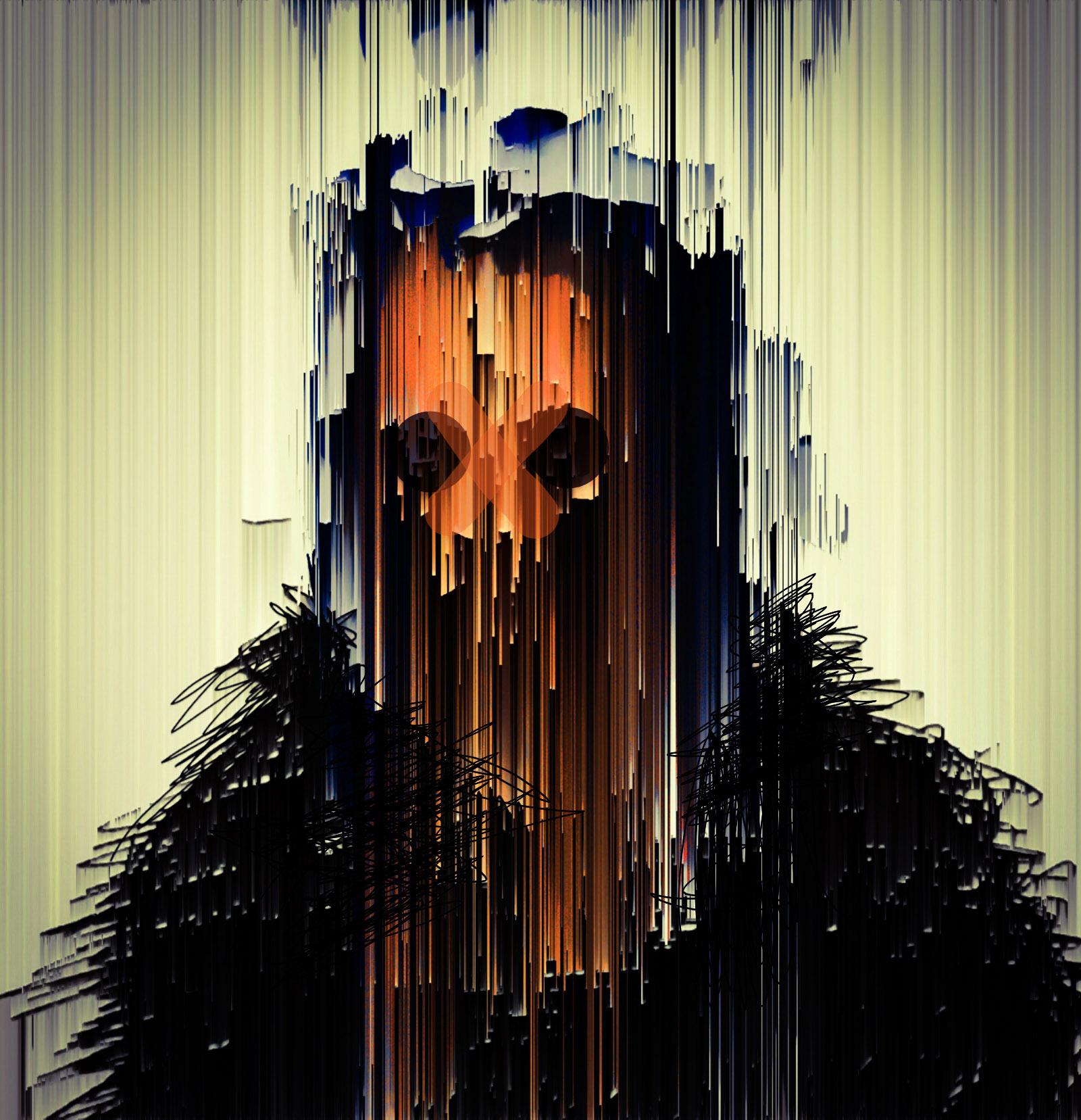 Self Portrait dark skull