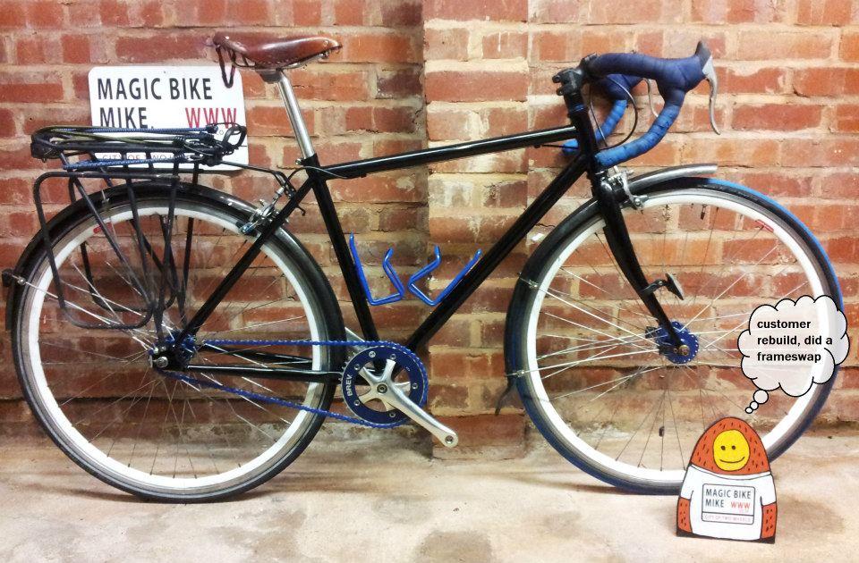 Fixie bike New Black Frame