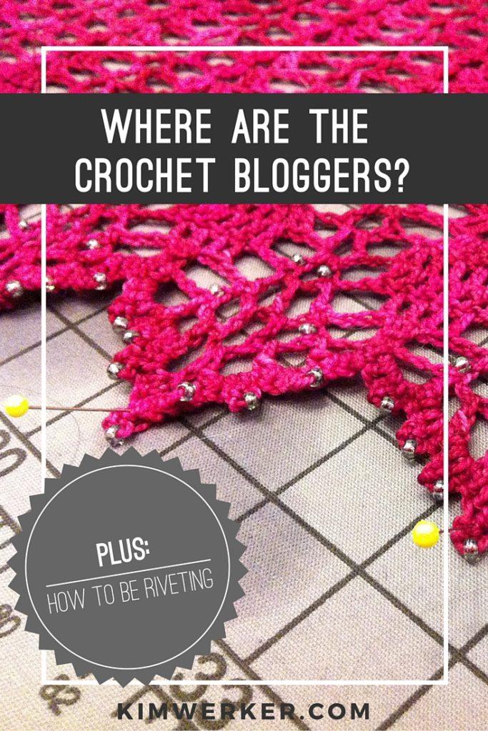 Where are crochet bloggers-