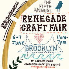 Renegade Craft Fair, Brooklyn