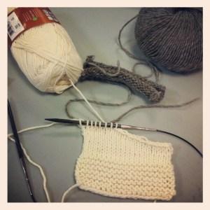 image of knitting