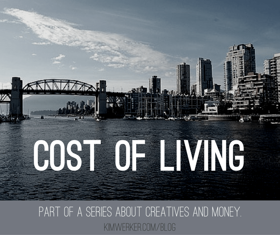How does the cost of living in your area affect your business as a creative professional? http://www.kimwerker.com/2013/04/24/money-money-money-part-3-cost-of-living/