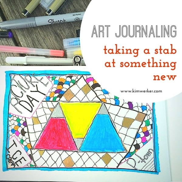 Taking a Stab at Art Journaling